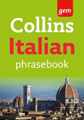 9780007358564: Collins Gem Easy Learning Italian Phrasebook
