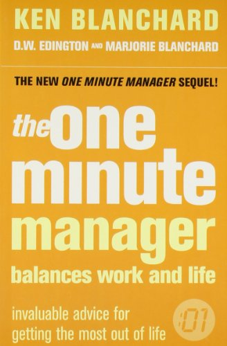 9780007359141: The One Minute Manager & Balances Work And Life