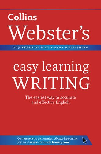 9780007363810: Writing (Collins Webster's Easy Learning)