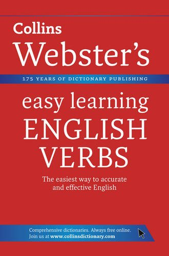 9780007363827: English Verbs. (Collins Webster's Easy Learning)