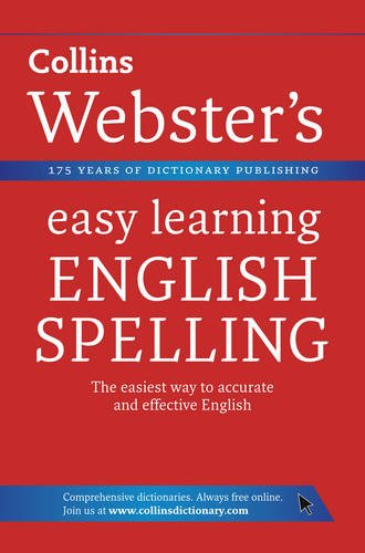 9780007363834: English Spelling. (Collins Webster's Easy Learning)