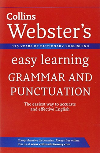 9780007363858: Grammar and Punctuation (Collins Webster's Easy Learning)