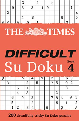 9780007364510: The Times Difficult Su Doku Book 4