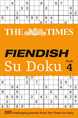 9780007364534: The Times Fiendish Su Doku Book 4