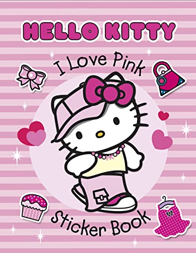 9780007365159: I Love Pink Sticker Book (Hello Kitty)