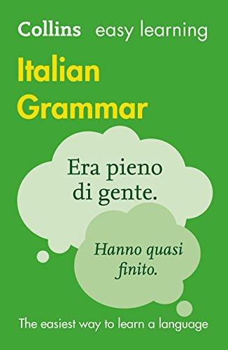 9780007367801: Easy Learning Italian Grammar (Collins Easy Learning Italian)