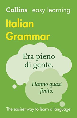9780007367801: Collins Easy Learning: Italian Grammar
