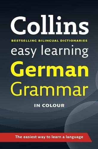 9780007367818: Easy Learning German Grammar (Collins Easy Learning German)
