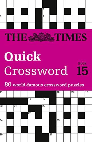 9780007368501: Times 2 Crossword Book 15