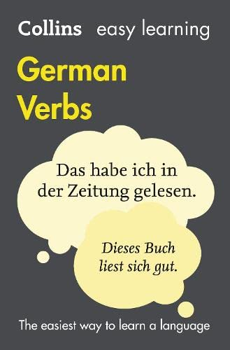 9780007369768: Easy Learning German Verbs: with free Verb Wheel (Collins Easy Learning German)