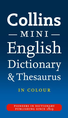 9780007371303: Collins Mini Dictionary & Thesaurus