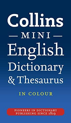 9780007371303: Collins Mini Dictionary & Thesaurus