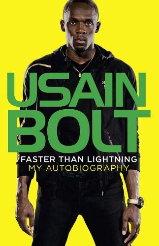 FASTER THAN LIGHTNING : MY AUTOBIOGRAPHY - SIGNED FIRST EDITION FIRST PRINTING
