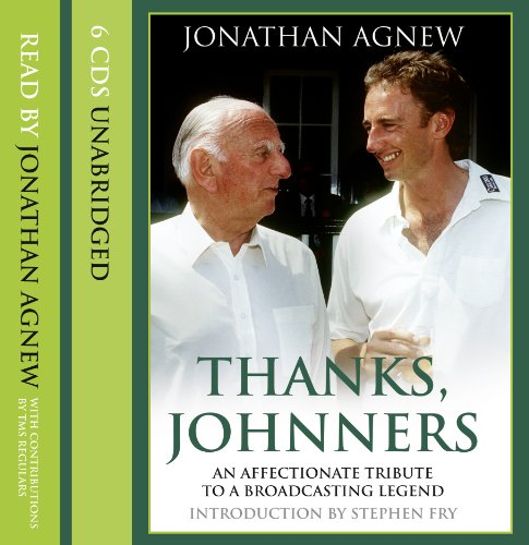 9780007371532: Thanks, Johnners: An Affectionate Tribute to a Broadcasting Legend