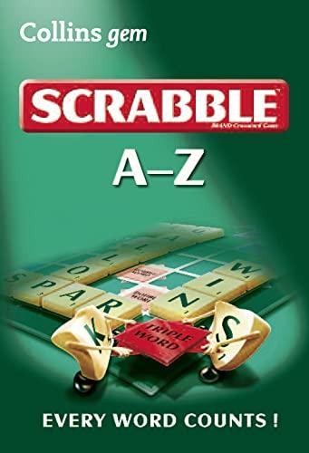 9780007373345: A-Z of Scrabble (Collins Gem)