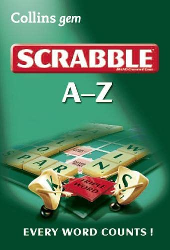 9780007373345: A-Z of Scrabble (Collins Gem)