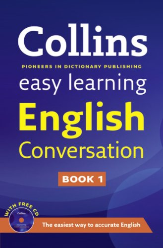 9780007374724: Easy Learning English Conversation: Book 1 (Collins Easy Learning English)