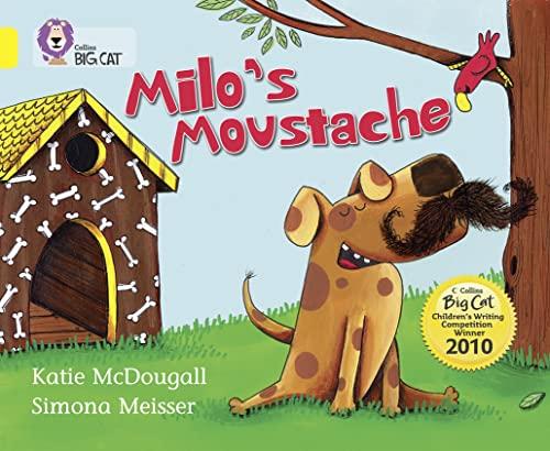 9780007378128: Collins Big Cat - Milo's Moustache: Band 03/Yellow