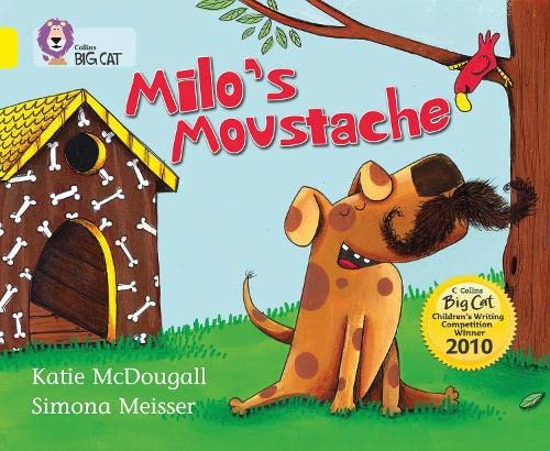 9780007378128: Milo's Moustache (Collins Big Cat)