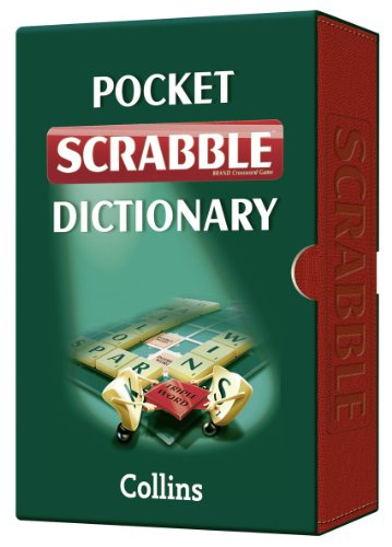 9780007379026: Collins Pocket Scrabble Dictionary: Luxury slipcase edition