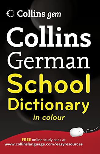 9780007379118: Collins Gem German School Dictionary