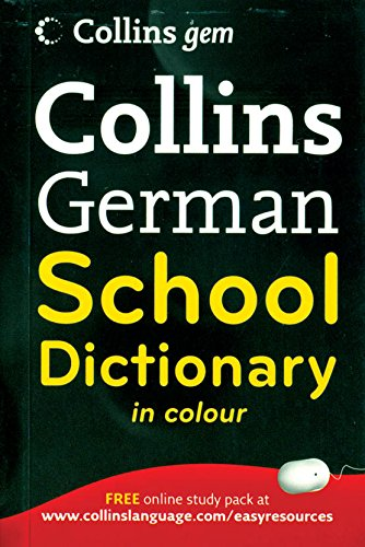 9780007379118: Collins German School Dictionary in Color
