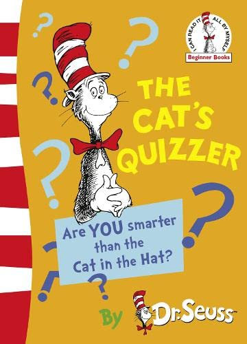 9780007379576: The Cat's Quizzer (Dr Seuss - Green Back Book)
