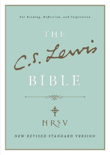 9780007383160: C. S. Lewis Bible: New Revised Standard Version (NRSV)