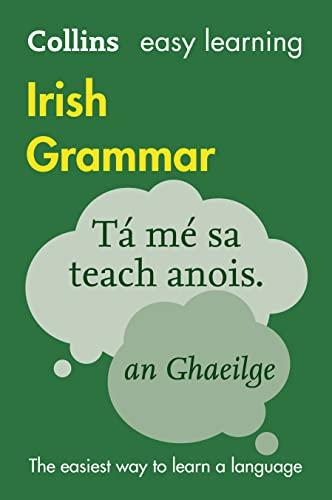 9780007391387: Easy Learning Irish Grammar (Collins Easy Learning Irish)