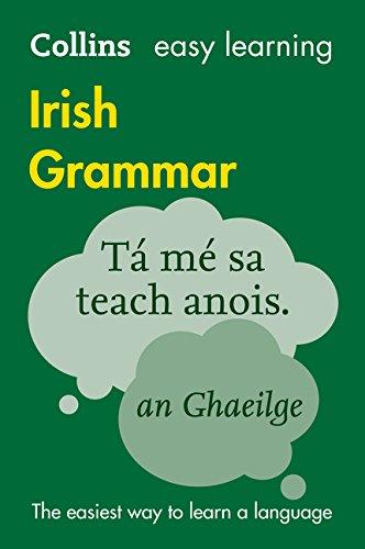 9780007391387: Easy Learning Irish Grammar (Collins Easy Learning Irish) (Irish and English Edition)