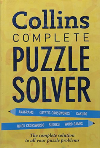 9780007393633: Collins Complete Puzzle Solver (Reference)