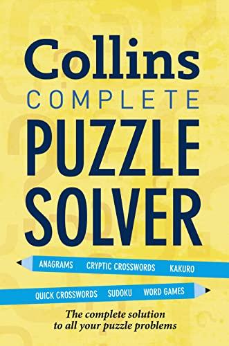 9780007393633: Collins Complete Puzzle Solver.