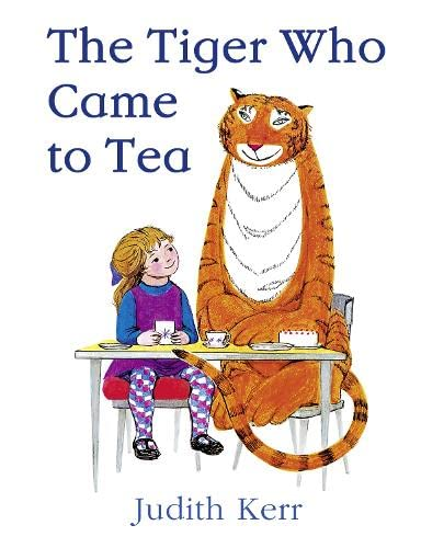 The Tiger Who Came to Tea >>>> THIS IS A SUPERB SIGNED UK HARDBACK - 1ST PRINTING <&...