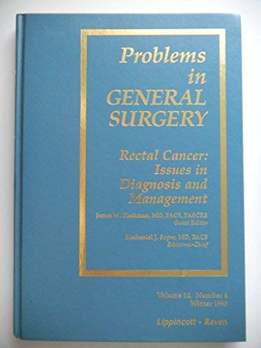 9780007398324: Problems in General Surgery (Periodicals)