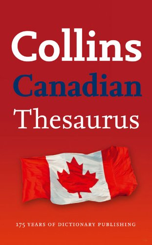 9780007398515: Collins Canadian Thesaurus