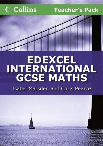 9780007410170: Collins Igcse Maths: Igcse Maths Edexcel. Teacher Guide (Edexcel International GCSE)