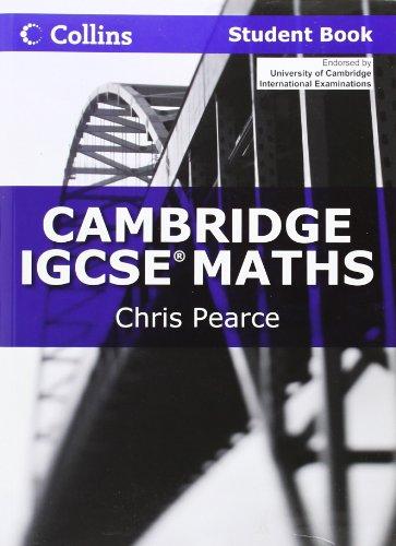 9780007410187: Collins Cambridge IGCSE - Cambridge IGCSE Maths Student Book