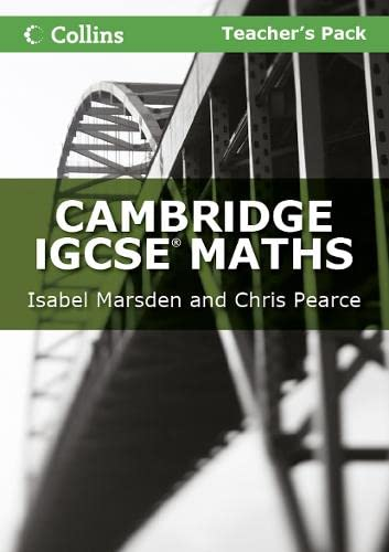 9780007410200: Cambridge IGCSE Maths Teacher's Pack (Collins IGCSE Maths)