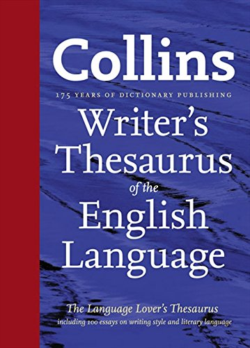 9780007412518: Collins Writer's Thesaurus of the English Language