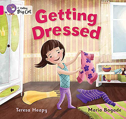 9780007412785: Collins Big Cat - Getting Dressed: Band 01A/Pink A