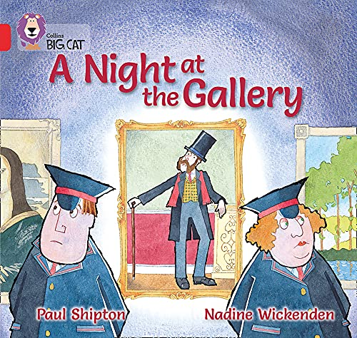 9780007412846: A Night at the Gallery: Band 02A/Red A (Collins Big Cat)