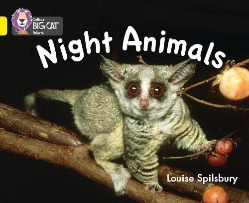 9780007412952: Night Animals (Collins Big Cat)