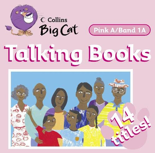 9780007413768: Collins Big Cat Audio - Talking Books: Band 1A/Pink A