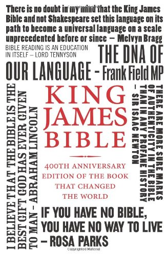 9780007414062: Holy Bible: King James Version (KJV) 400th Anniversary Edition