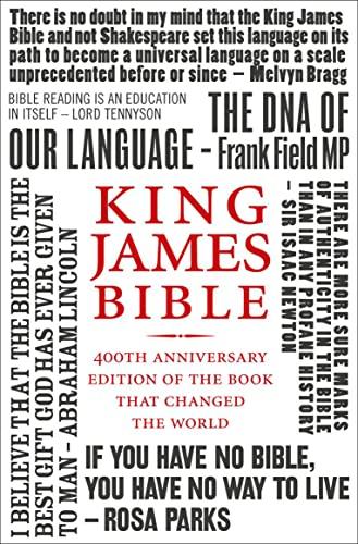 9780007414062: Holy Bible: King James Version (KJV) 400th Anniversary Edition