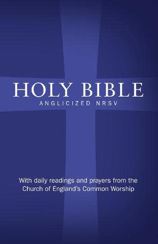 9780007414086: Holy Bible: New Revised Standard Version (NRSV)Anglicised edition with daily readings and prayers from the Church of England?s Common Worship