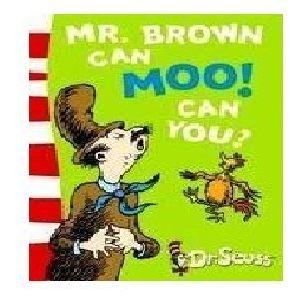 9780007414147: Mr. Brown Can Moo! Can You?: Blue Back Book
