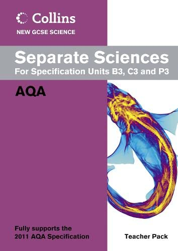 9780007414604: Collins New GCSE Science - Separate Sciences Teacher Pack: AQA