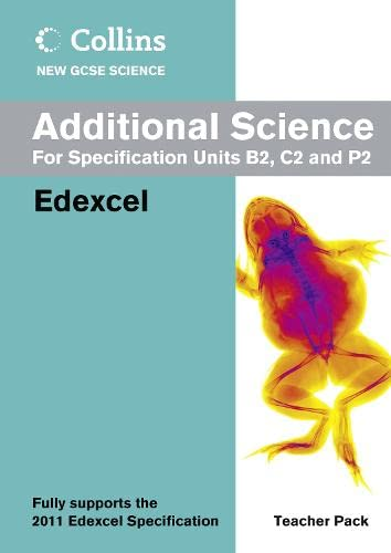 9780007415090: Collins New GCSE Science - Additional Science Teacher Pack: Edexcel