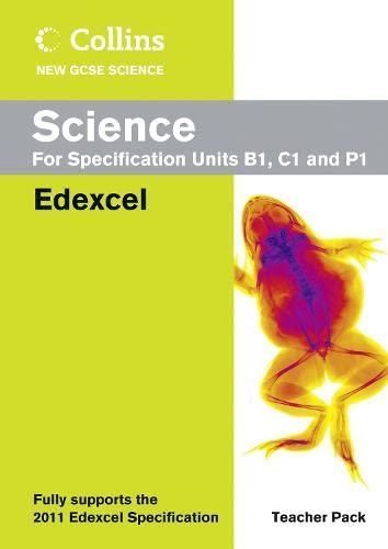 9780007415151: Collins New GCSE Science - Science Teacher Pack: Edexcel